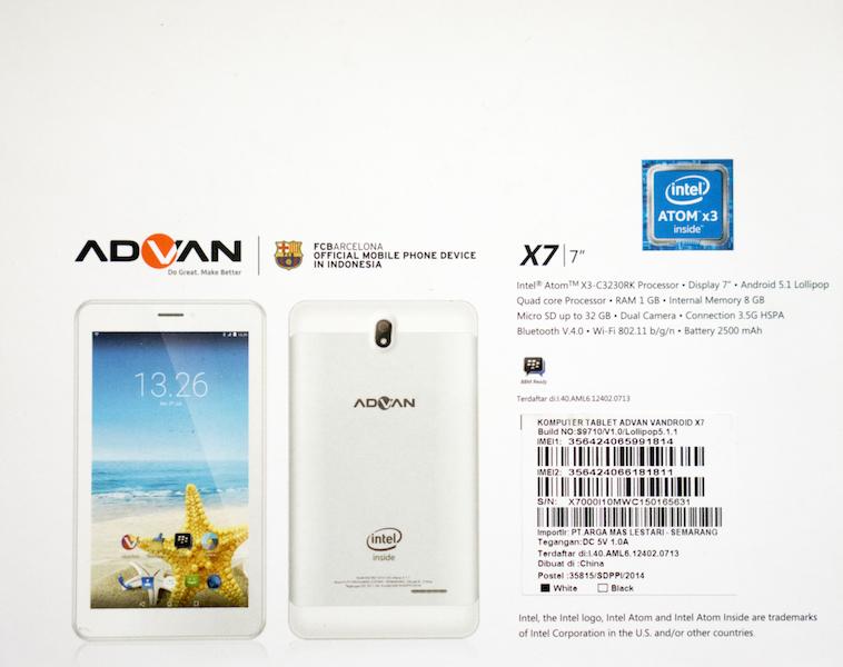 758 X 600 Pixels Advan X7