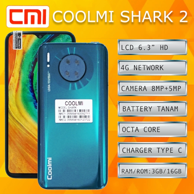 coolmi SHARK 2 - 2